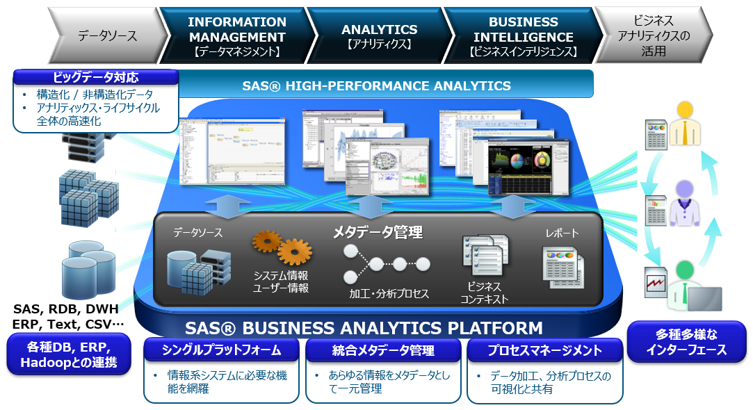 SAS Business Analytics Platform