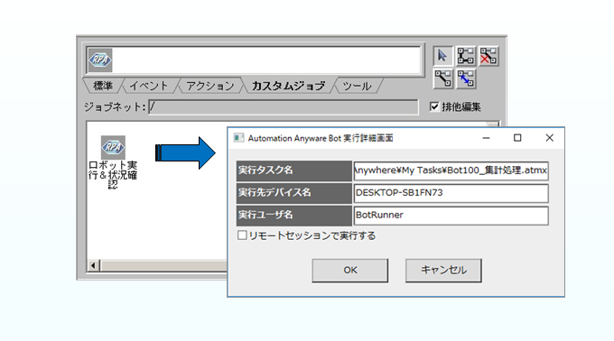 JP1連携ソリューション for Robotic Process Automation